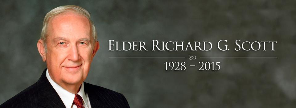 Elder Richard G. Scott Dies at Age 86