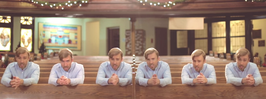 Six Peter Hollens' In One Video Makes for Viral YouTube Record