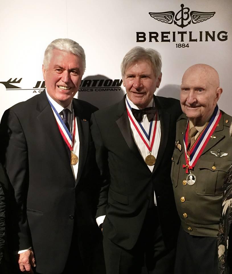 President Uchtdorf Meets Millennium Falcon Pilot Han Solo???