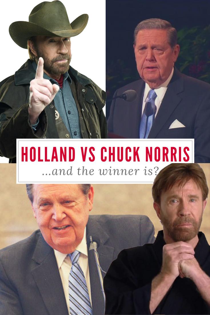 holland vs chuck norris