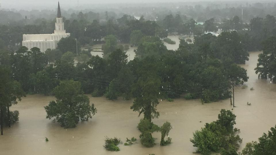 texas temple flooding