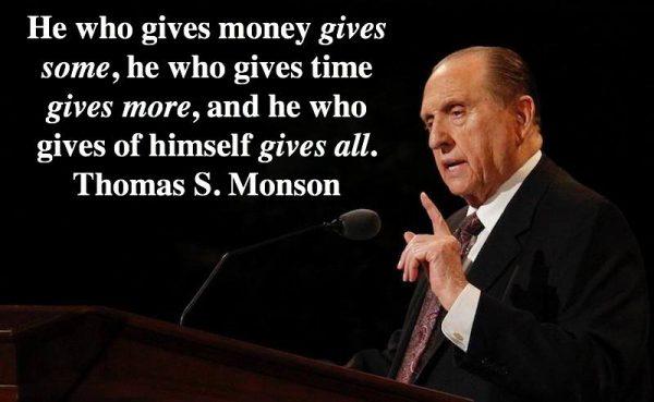 thomas s monson