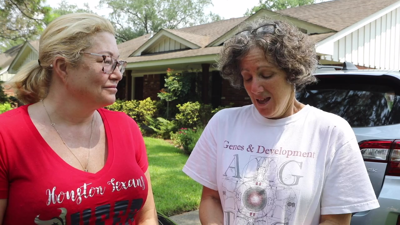 """Houston Residents Say Mormons """"Were the First Group I Saw"""" & """"They're a Godsend to Me"""""""