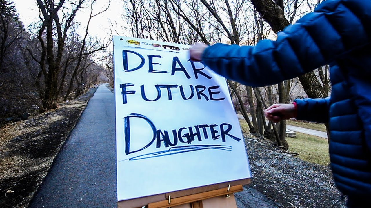 LDS Father Makes Touching Video: Dear Future Daughter