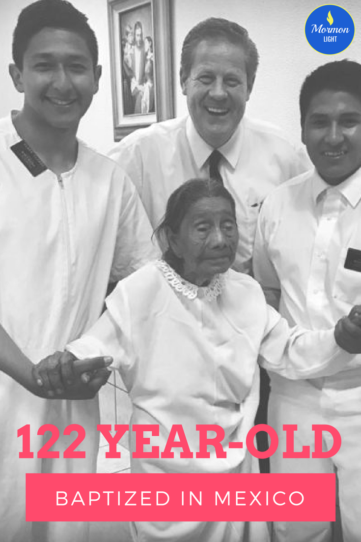 122 year-old baptized in Mexico