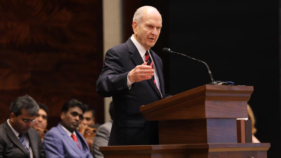 """The Lord told President Nelson on the Eve of General Conference: """"Announce a Temple in India"""""""