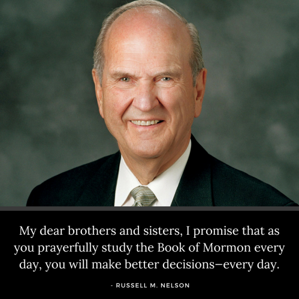 50 Quotes from President Nelson on the Power of the Book of Mormon