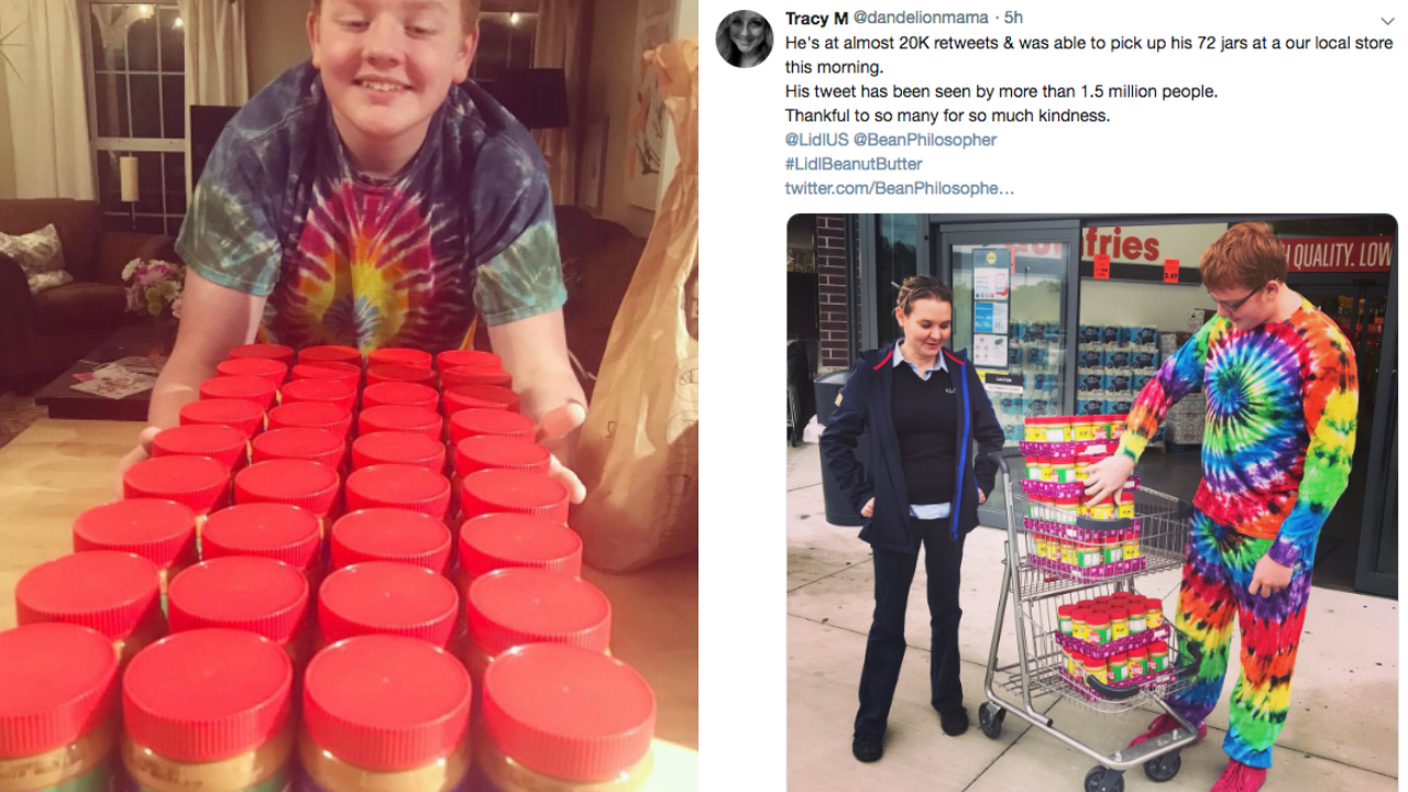Latter-day Saint Teen with Autism Needs Your Help to Win Peanut Butter For Life