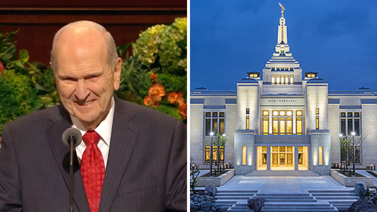russell m nelson temple announcement