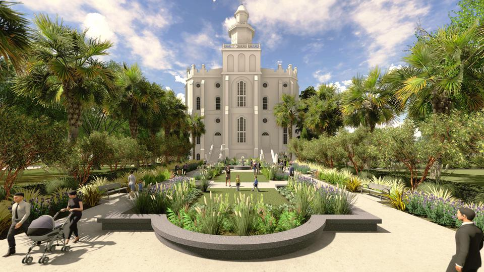 St George Temple Renovation