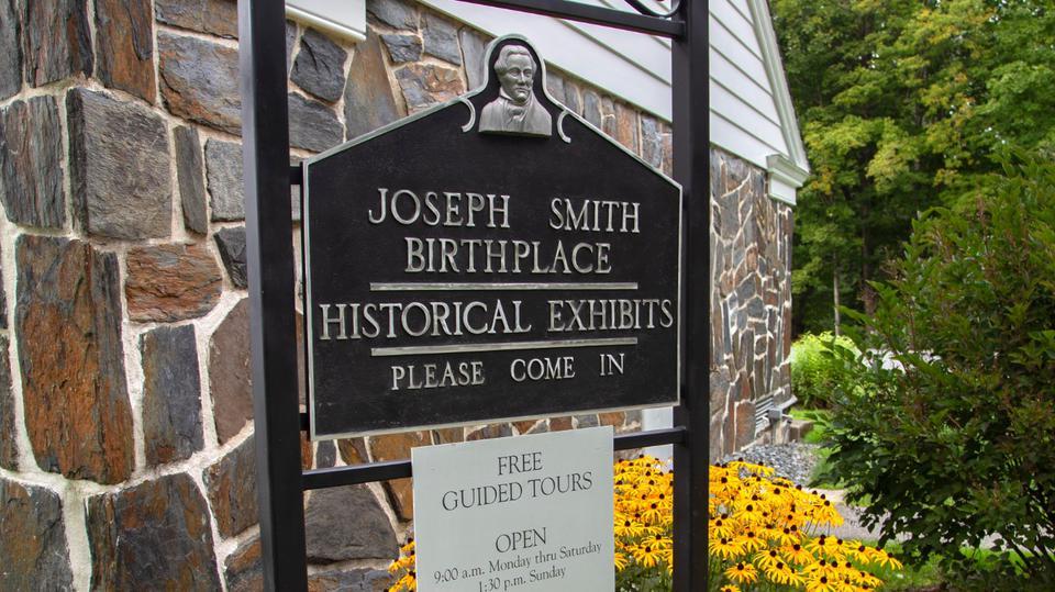 joseph smith birthplace