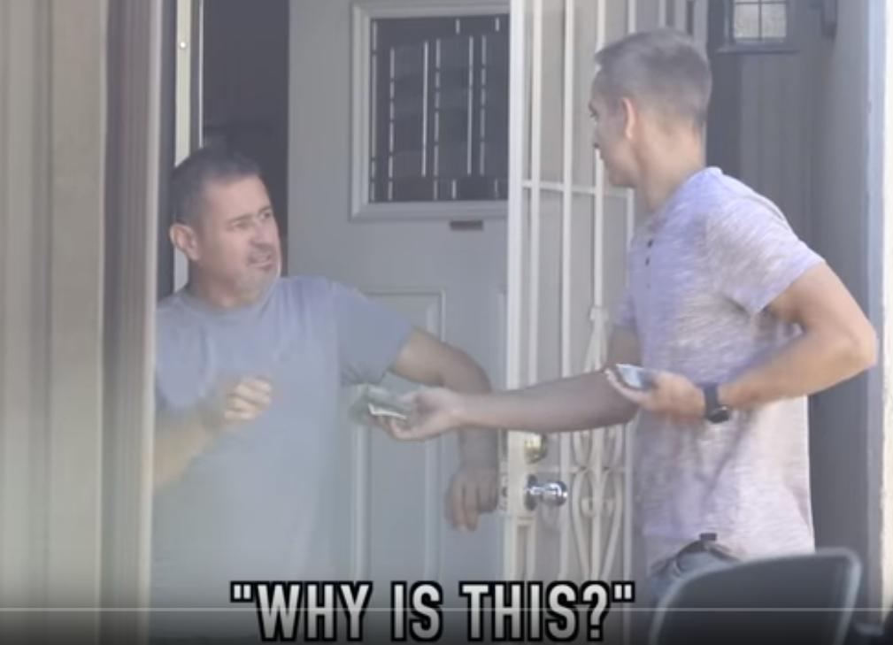 paying strangers rent