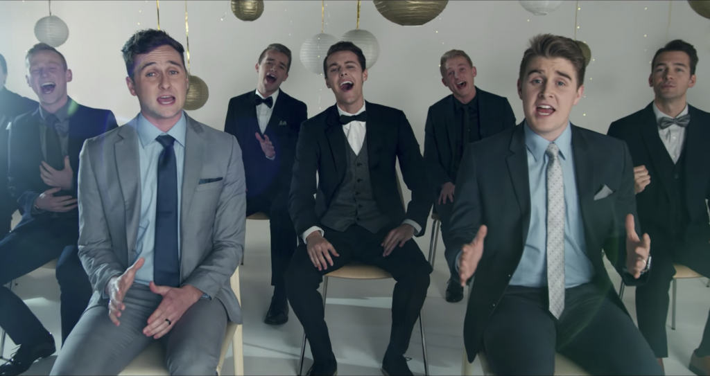 BYU Vocal Point's Latest Music Video Brilliantly Covers Beloved Irish Hymn