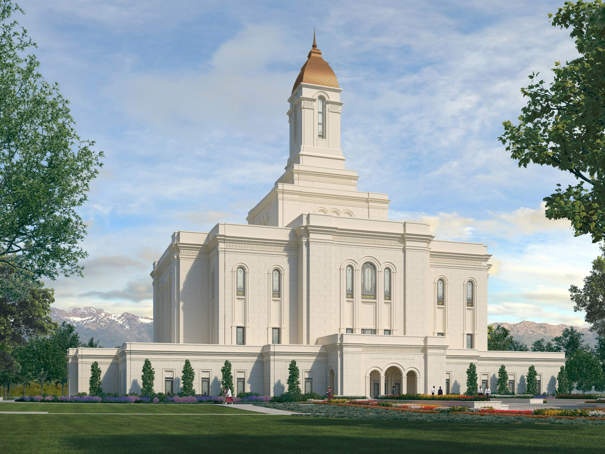 Interior Renderings Released for Tooele Valley Utah Temple
