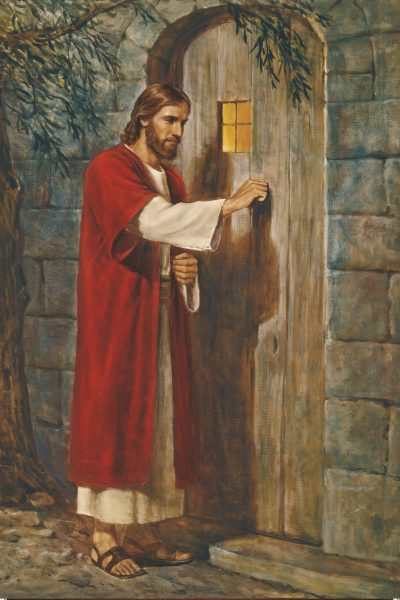 """Jesus Knocking at the Door,"" by Del Parson"