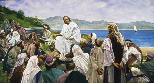 """The Sermon on the Mount,"" by Harry Anderson"