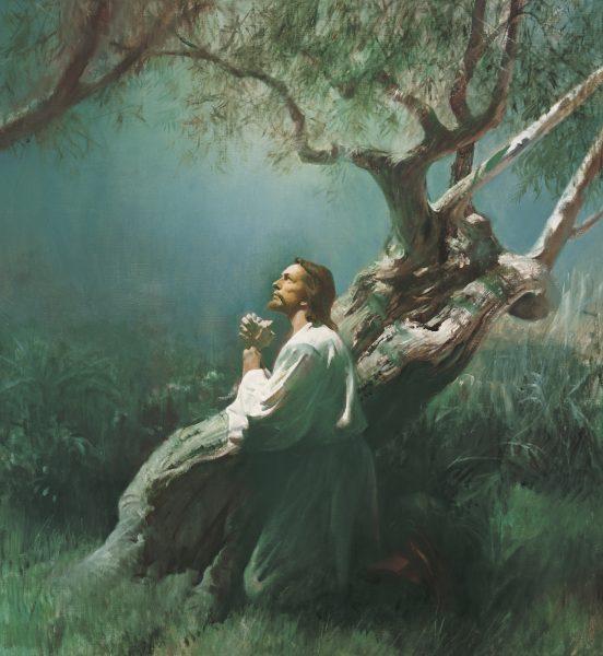 """""""Jesus Praying in Gethsemane,"""" by Harry Anderson"""