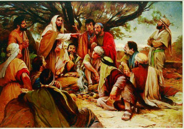 """These Twelve Jesus Sent Forth,"" by Walter Rane"
