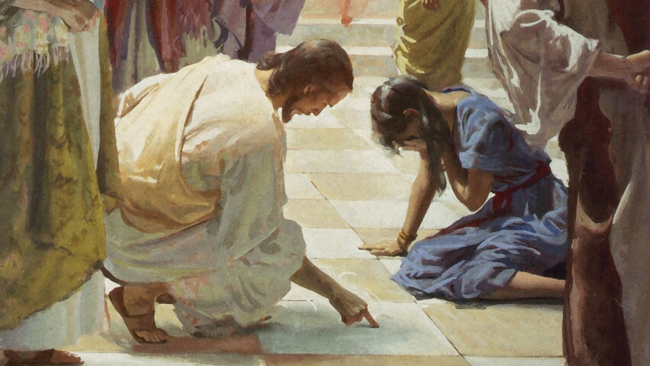 Watch: How the Woman Caught in Adultery teaches us about Relying on Our Rock, Jesus Christ
