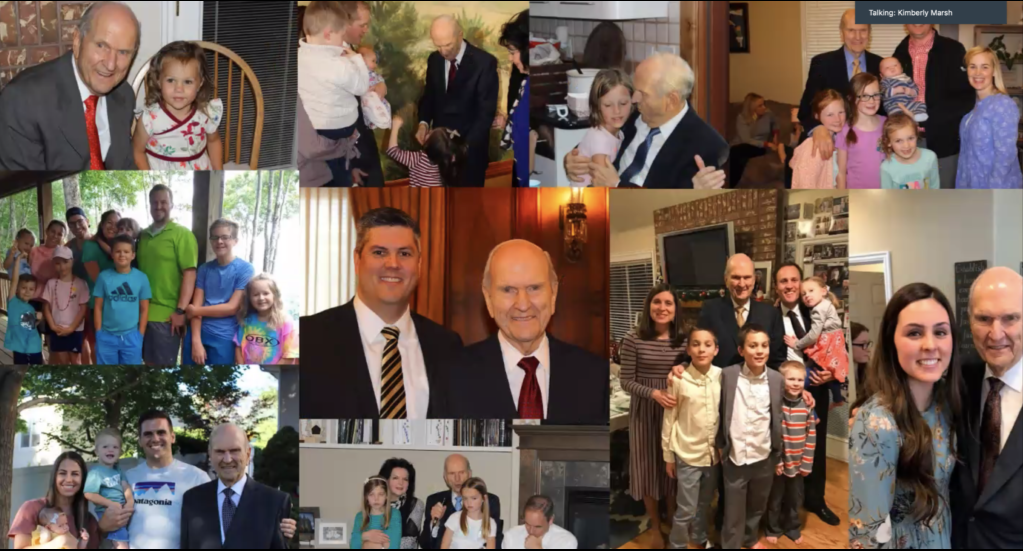 What President Nelson Had to Say on His 96th Birthday