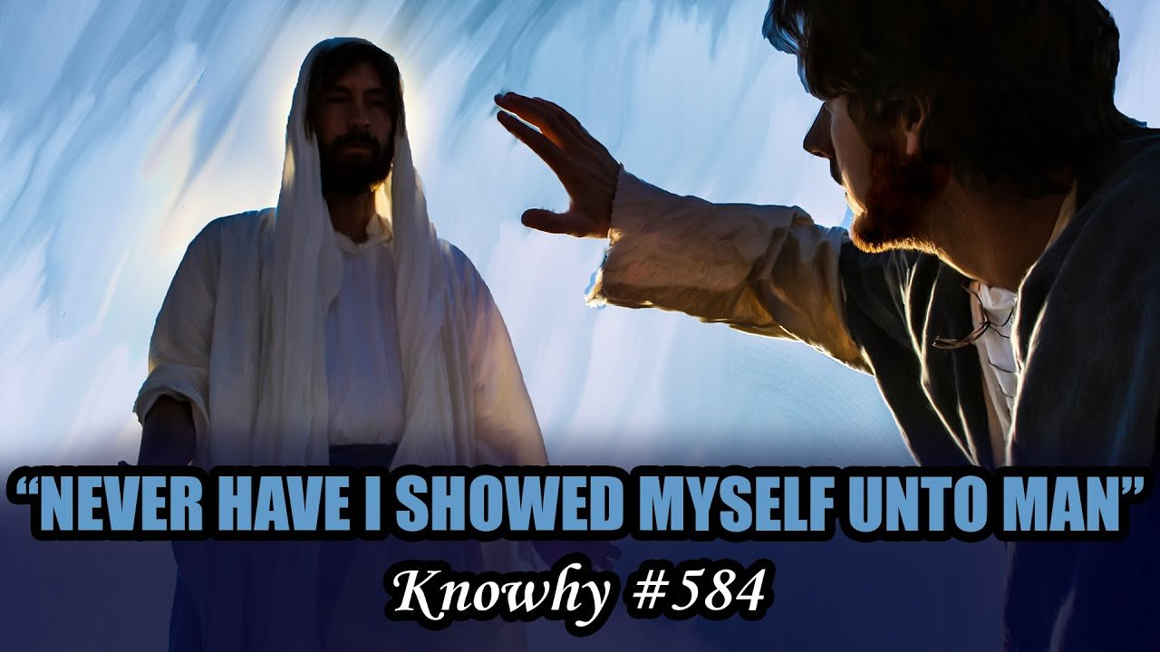 "Why Did Jesus Say, ""Never Have I Showed Myself unto Man""? When Speaking to the Brother of Jared"
