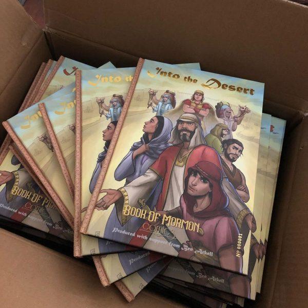 book of mormon comics