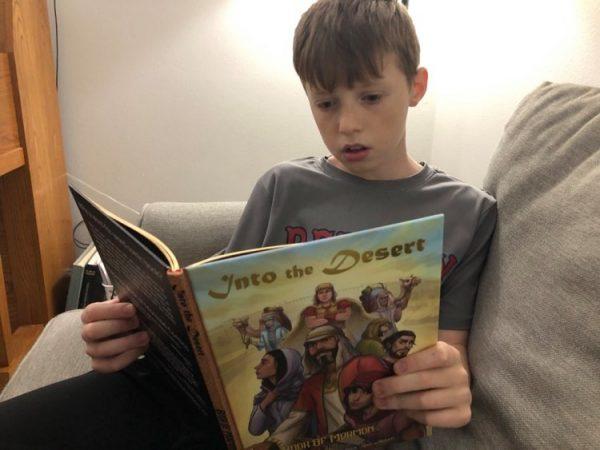 book of mormon comics reader