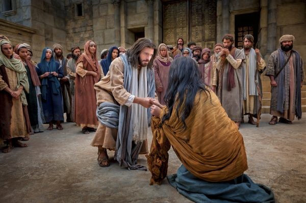 woman in adultery jesus