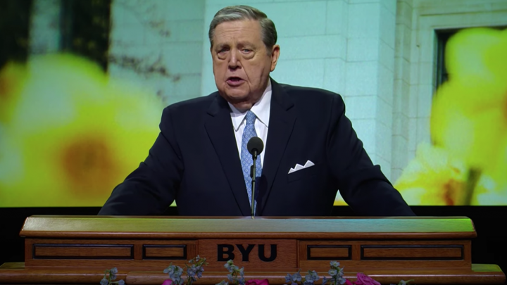 Elder Holland Invites BYU Faculty to Increase Love and Boldly Defend Truths of Gospel of Jesus Christ
