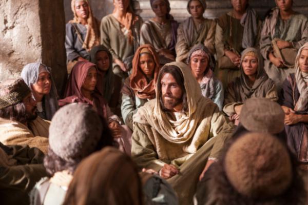 jesus crowds